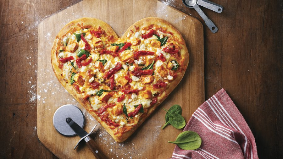 Heart-shaped pizzas are back for one day only at Boston Pizza