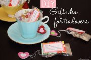 DIY: crafty gift idea for tea-lovers
