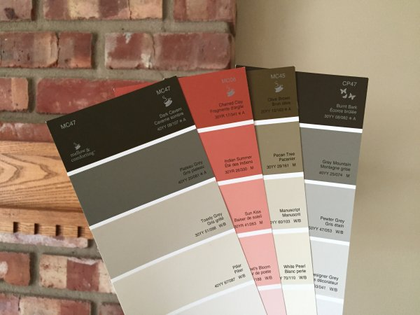 CIL Paint swatches
