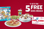 HURRY: Boston Pizza Kids Cards available until October 2