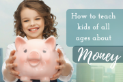 Teach kids about money: tips for all ages
