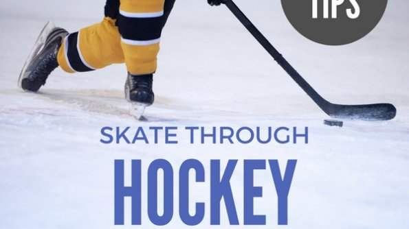 Tips to skate through hockey season