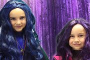 Descendants Mal, Evie and Maleficent Makeup for Halloween