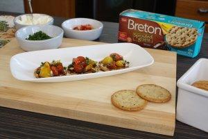 Balsamic Tomato Bites with Breton