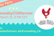 #RaisedbyCDNFarmer Twitter Party on London at 9:00 PM ET
