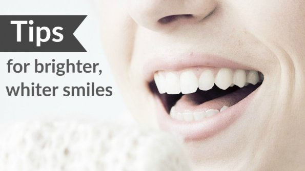 Tips for brighter, whiter smiles for the whole family