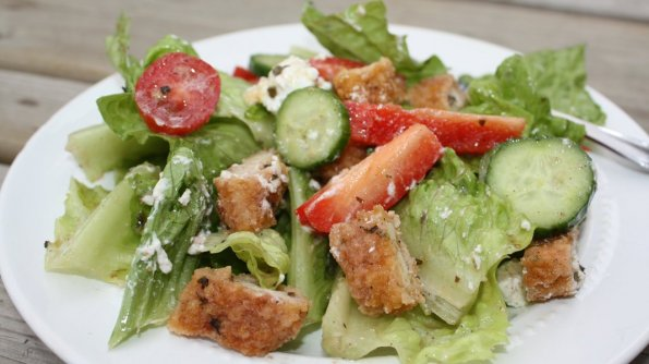 Easy Greek Chicken Salad