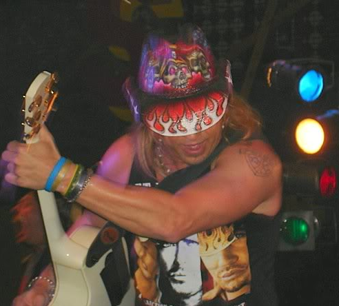 Bret Michaels in concert in Edmonton. Photo Sheri Landry