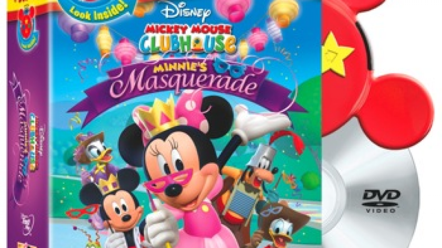 Mickey Mouse Clubhouse: Minnie's Masquerade DVD and Play Set