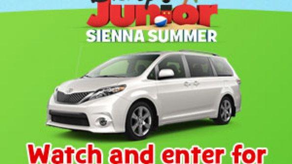 Disney Junior: Watch & Win a Toyota Sienna