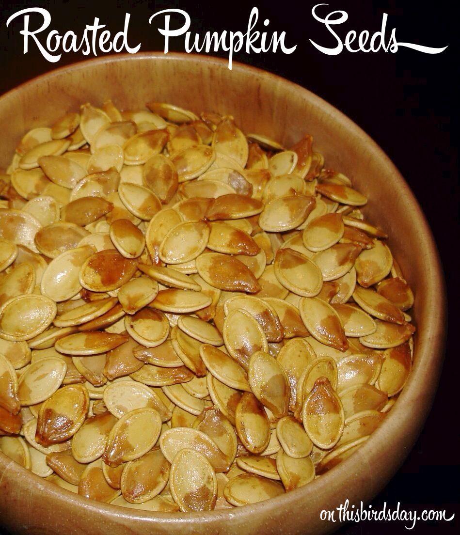 Roasted Pumpkin Seeds (Recipe)