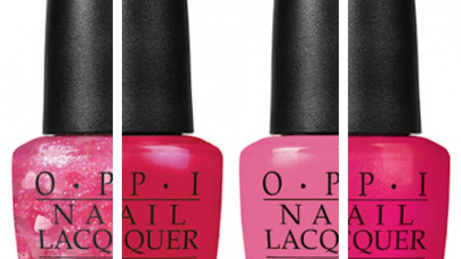 OPI Ltd Ed Minnie Mouse Inspired Nail Lacquers