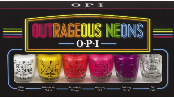 OUTRAGEOUS NEONS by OPI