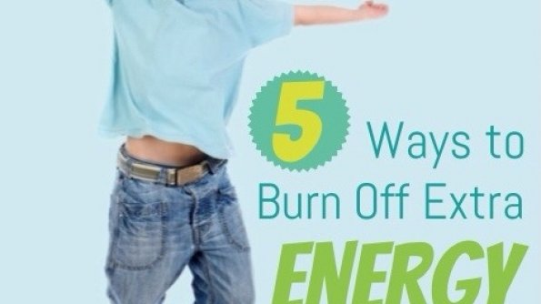Energetic boy for post on ways to burn off kids extra energy