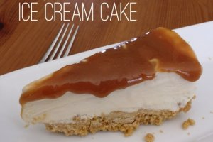 Maple Caramel Ice Cream Cake Recipe
