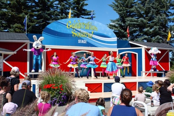 Shows are held throughout the day in Calaway Park. Photo Sheri Landry