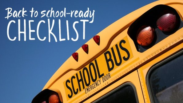Back to school-ready checklist Original photo by aceshot on Fotolia