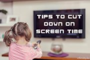 Tips to cut down on screen time