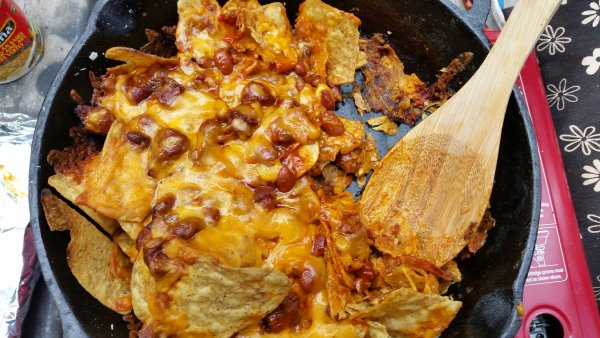 Campfire Nachos. Photo credit Stacey Brotzel.