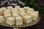 Spiced Rum & Eggnog Fudge Recipe