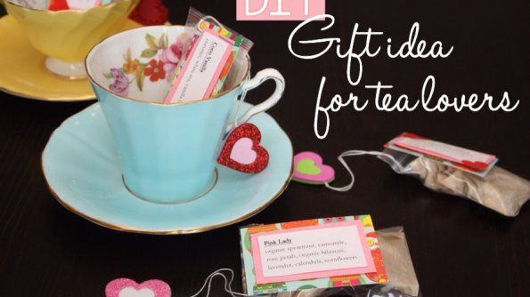 DIY gift idea for tea lovers on This Bird's Day. Photo copyright Sheri Landry