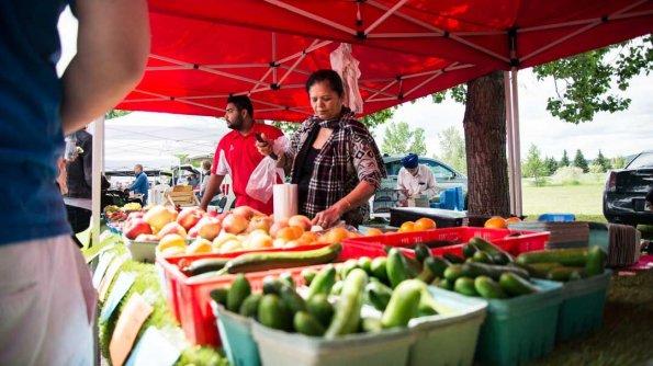 Get a taste of Cochrane Farmers' Market