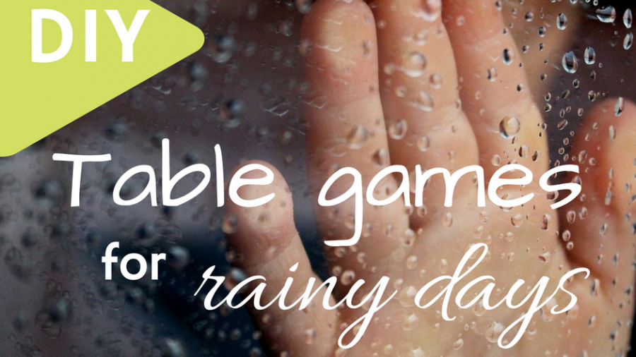 Table games you can DIY during rainy days